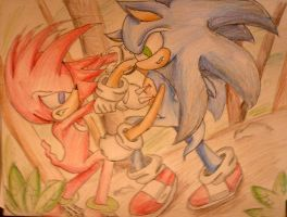 Red and Blue by iheartsonic