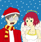 Kenji and Rin argue about Xmas by realcoldacid