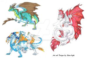 Dragon Adopts (OPEN) by Zona-Light