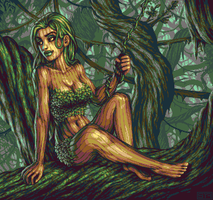 Jungle Dryad by Trick17