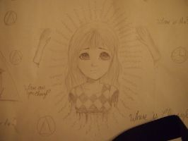 Doodle from school #1 by claimed-spirit