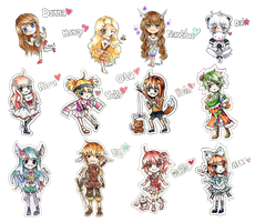 Pagedoll Commission Batch by Pyoki