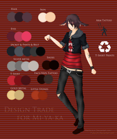 ::Design Trade:: For Mi-ya-ka by Narita-kun