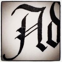 Calligraphy Instagrammed - A by MShades