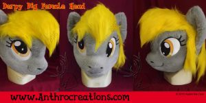 Fursuit Derpy MLP Head by AtalontheDeer