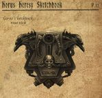 Horus Heresy Sketchbook P12 by Noldofinve