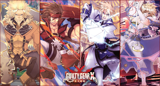Guilty Gear Xrd Fan Art (Male version part 1) by DAI-SAMURAI
