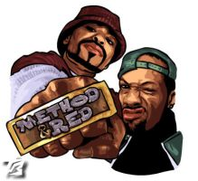 Method man and Redman by Thunderbum