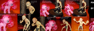 PINKIE PIE AND GOLLUM: SMILE! by TMNTFAN85
