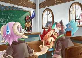 12TFA4 Mr.Reggu's Magic class by longjunt