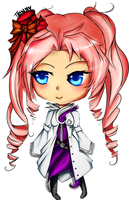 lace chibi : gaia commission by ChiffonMouse