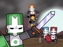Castle Crashers by 2Stickman2