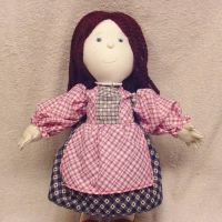 Handmade cloth doll Peggy by CreativeCritters