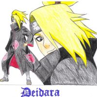 Deidara for Gaara-Rin by originalsoundtrack