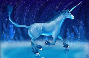 Unicorn Of Ice by sugar-cat-candy