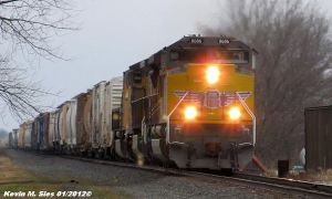 Brand New UP 8686 leads CSXT Q686 by EternalFlame1891