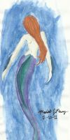 a Little Mermaid by psychoviolinist1012