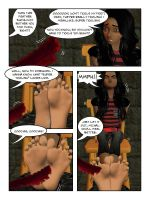 Michal And Her Big Ticklish Feet (1) p3 by sahrkastik