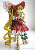 Shinku garage kit figure - right by Michael-XIII