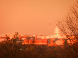 The US Capitol at Sunset by Flaherty56