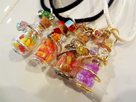 Gummy Candy Bottles! by WaterGleam