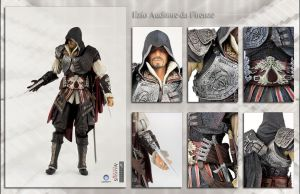 Ezio Auditore da Firenze action figure by shatinn