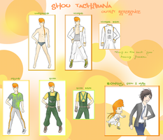 Shou -Outfit Reference- by kodou-e