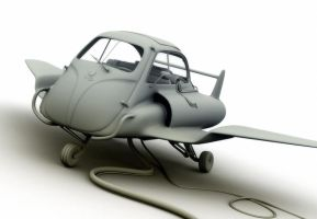 Jet BMW Isetta by kokillo