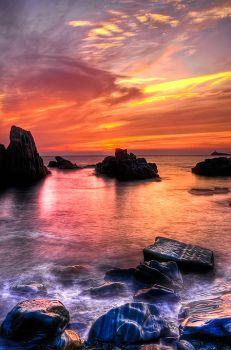 Sunset HDR Newfoundland by Witch-Dr-Tim