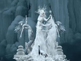 Queen of Ice by NikNikonov