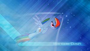 Rainbow Dash ~ Stratospheric in 10 seconds flat by 2bitmarksman