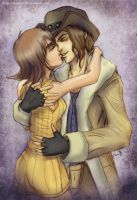 Selphie and Irvine by Maye1a