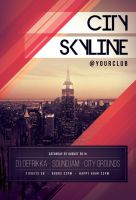 City Skyline Flyer by styleWish