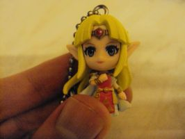 Zelda: A Link Between Worlds Keyring by RedDevilDazzy2007