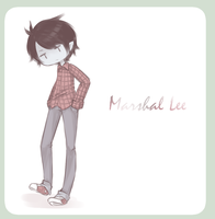.:Fan Art : Marshal Lee:. by InkHeartPaw