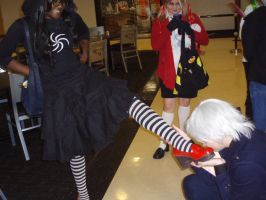 Prussia Kisses Shoes - Tigercon 2012 by WolvesOfComedy