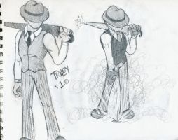 Trilby Sketches by Chemartist