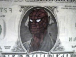 this is a Spider-dollar by cheastnut