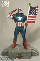 Captain America - Painted 03 by ASM-studio