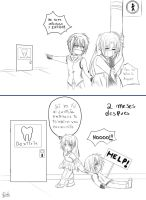 visit the dentist by Heart-tsukikage