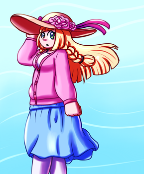 Lillie in Spring by Inika-Xeathis