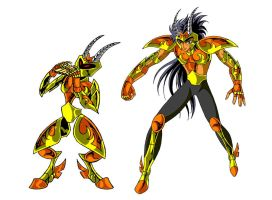 Pan - Saint Seiya version by FaGian