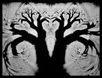 The shadow of the tree by IDeviant