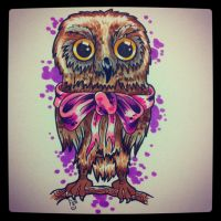 owl  by FIZZINK