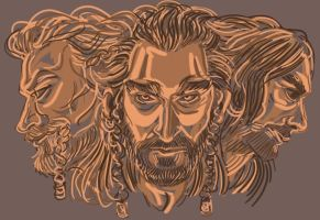 Heirs of Durin by kallielef