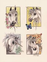 Unicorn Seasons by Artsy50