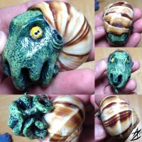 Cthulhu Escargot Sculpt by azolina3