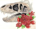 Skull and Roses by LimehouseBlues
