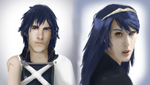 Chrom and Lucina - Real-Life Style by Darkie4Eva