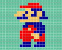 Old School Mario Tiled by drsparc